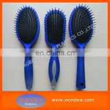 Bule rubberized cushion brush