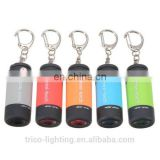 Mini Keychain USB Rechargeable LED Flashlight Torch
