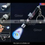 led projection flashlight