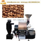 Industrial gas and electric type coffee bean roasting machine cocoa baker roaster equipment
