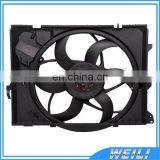 Electric Cooling Fan/ Radiator Fan Assembly 17427563259 17427523258 for BMWE81 E87 E87LCI E88 E82 E90 E90LCI E91 E92 E84, 300W