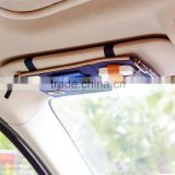 New Multi-purpose Auto Car Sun Visor Organizer Pouch Bag Card Storage Holder Beige