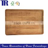 Wood Square Tray,Food Tray Plate,Natural Fruit Tray Plate