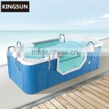 Square Freestanding Large Outdoor Hot Spa Whirlpool Portable Bathtub