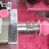 Cosmetic make - up foam shapes automatic buffing polishing machine