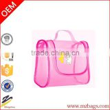 Ladies PVC Cosmetic Bag Makeup Handbag Travel Organiser