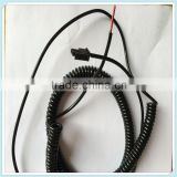 Spring Cable 2.54 Pitch Molex Connector with 11/0.16Copper Conductor PVC Insulation Wire Harness