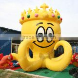 Giant inflatable advertising octopus cartoon beautiful cartoon
