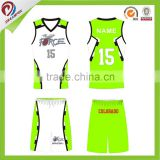 custom100% Polyester Basketball Uniform cheap reversible basketball jersey uniform wholesale
