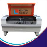 LB-CE cross cursor and red dot preview PU leather laser acrylic sheet cutting and engraving machine