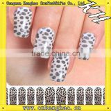 DIY fashional 3d french tip nail stickers