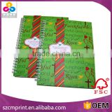 Concealed wire-o binding hand-made book printing/Gloss paper book printing with best price