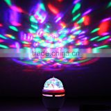Fullbell LED Color Changing Disco Dj Stage Lighting LED RGB Crystal Magic Ball Effect Light DMX decorating a party with lights