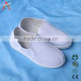 Fashioned Canvas/PU esd safety shoes for cleanroom for pormontional