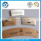 8-20 oz custom design corrugated paper coffee cup sleeve                                                                         Quality Choice