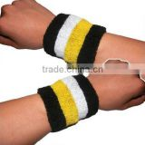 hot sell embroidery wristbands towel knitted wrist support wrist protection -12