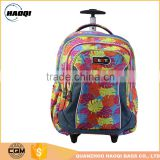 Children trolley backpack School backpacks with wheels