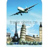 ABS+PC film printing luggage/colorful suitcase/airplan trolley case/cabin case/travel bags
