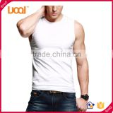 Customized Fashion 100% Premium Cotton Mens Fitness Stringer Tank Top Wholesale Men Muscle tshirt