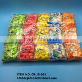 5g star shape puffed food candy in bag package