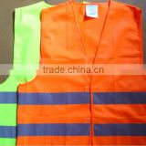 Security Protection Cycling EN20471 High Visibility Led Reflective Safety Vest