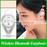 Mini Wireless Bluetooth Headphone Bluetooth V4.0 Music Earphone Handsfree In-ear Headset With Mic For Iphone For Cellphone