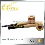 GTO2034 Hot Smart Natural Corn Cob Gourd-shaped Cigarette Holder Smoking Tobacco Wood Pipe
