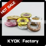 KYOK home decorations project curtain metal eyelet rings ,window blind accessories ,curtain eyelet curtain accessory