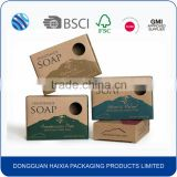 Custom printed handmade cardboard paper soap packaging box wholesale                                                                         Quality Choice