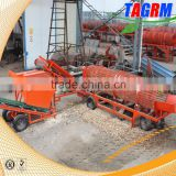 Electrical type cassava machine of cassava peeler and chipper save labor cost