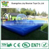 best selling inflatable swimming pool for rental , inflatable pool rental with water walking ball