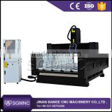 Heavy duty 3 axis cnc router machine , 1300*2500mm stone cnc machine for marble granite tombstone