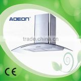 AHT-02GA(900mm) High Quality Kitchen Range Hood with Chimney Caps