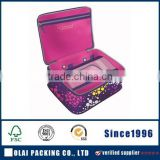 Promotional PU leather cosmetic bags/ makeup pouch/ toiletry bags for girls                                                                         Quality Choice