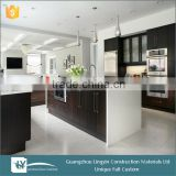 2015 Hot sale white black laminated double side wood grain high gloss lacquer mdf board wood price
