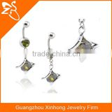 Free sample belly rings High quality piercing body jewelry