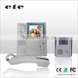 "Handset 4""TFT LCD handset monitor color ETE HOTEL intercom door opening system video door phone intercom"