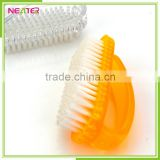 plastic bath and shower scrub foot cleaning nail brush