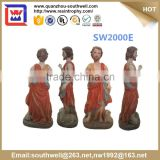 hot selling religious statues Resin catholic religious items religious souvenirs figurines