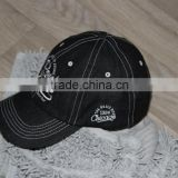 Jean baseball caps embroiderd customization logo jean fabric