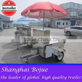 2015 hot sales best quality hot dog cart with color humburger hot dog cart hot dog cart with engine