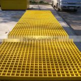 "fiberglass mould grating 1-1/2"" thick 1-1/2"" square mesh"