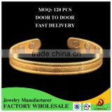 ATHENAA Factory Directly Top Quality Cooper Jewelry Brass Bracelet Energy Health Bio Magnetic Bangle Energy Bangle