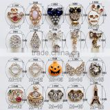 new style metal alloy with rhinestone fancy charm for finger nail decoration                                                                         Quality Choice