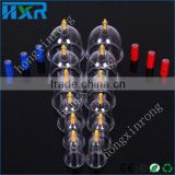 12 Pcs Cupping Set Chinese Therapy Cellulite Medical Vacuum Plastic Massage Cupping