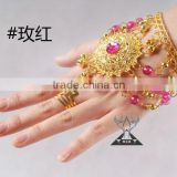 2014 Belly Dancing Costumes Decorations Rings and Bracelet,Fashion Bracelet for Dancer (T014)