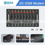 8 sim card box gsm modem or CDMA WCDMA goip gateway with IMEI changer