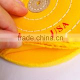 100% cotton jewelry customized polishing buffs