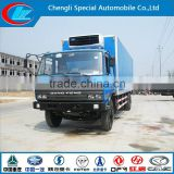 Fresh vegetable freezer truck transport meet freezer truck hot sale 4X2 refrigerator truck
