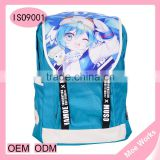 Best selling anime school backpack snow miku